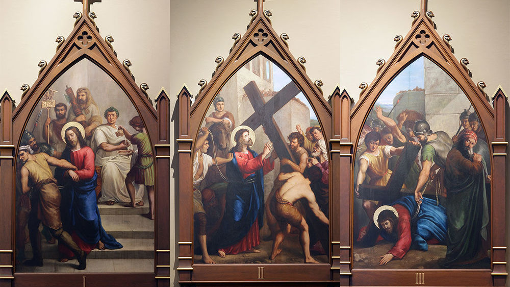 Basilica Stations Of The Cross