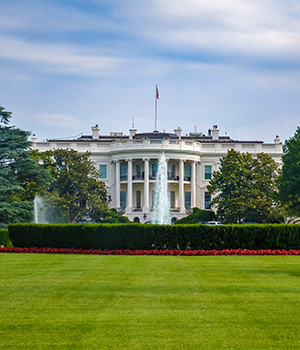 The White House. Photo by David Everett Strickler.