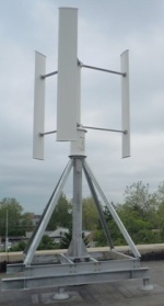 First wind turbine installed on campus