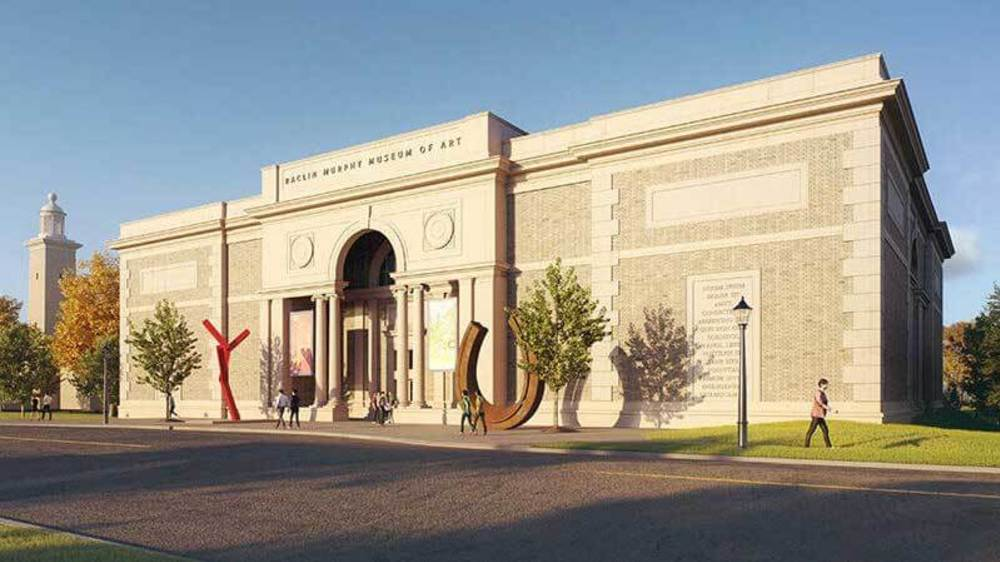 Raclin Murphy Museum of Art Rendering