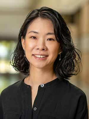 Sharon Yoon (Photo by Barbara Johnston/University of Notre Dame)