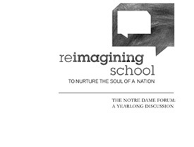 Forum 2011: Reimagining School