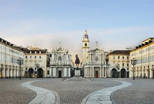Piazza San Carlo, Torino, Italy
