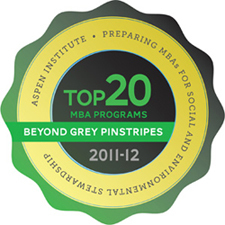 Aspen Institute's Beyond Grey Pinstripes 2010-2011 Global 100