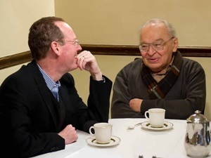 Paul Gustavo and Rev. Gustavo Gutiérrez, OP