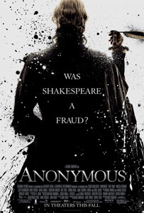 Anonymous. Photo courtesy of Columbia Pictures.