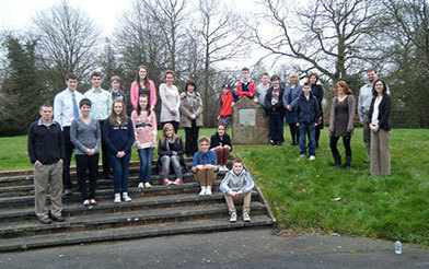 Notre Dame, Lismore and Lurgan students