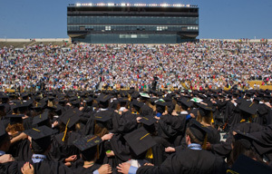 167th University Commencement Ceremony, Notre Dame Stadium, May 20, 2012