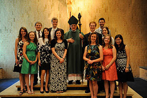 Echo Faith Formation seventh graduating class