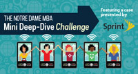 The Notre Dame MBA Mini Deep-Dive Challenge