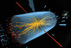 Higgs illustration (Courtesy CMS/CERN)