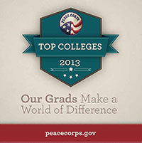 Peace Corps top volunteer-producing midsized colleges and universities