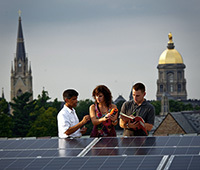 Notre Dame engineering graduate students
